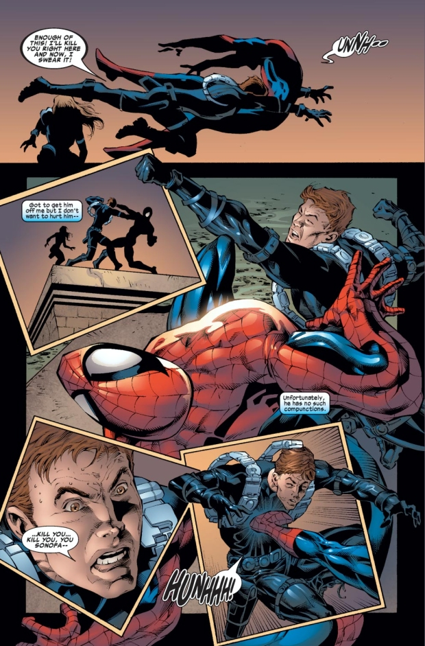 Spider-Man VS Gabriel Stacy
