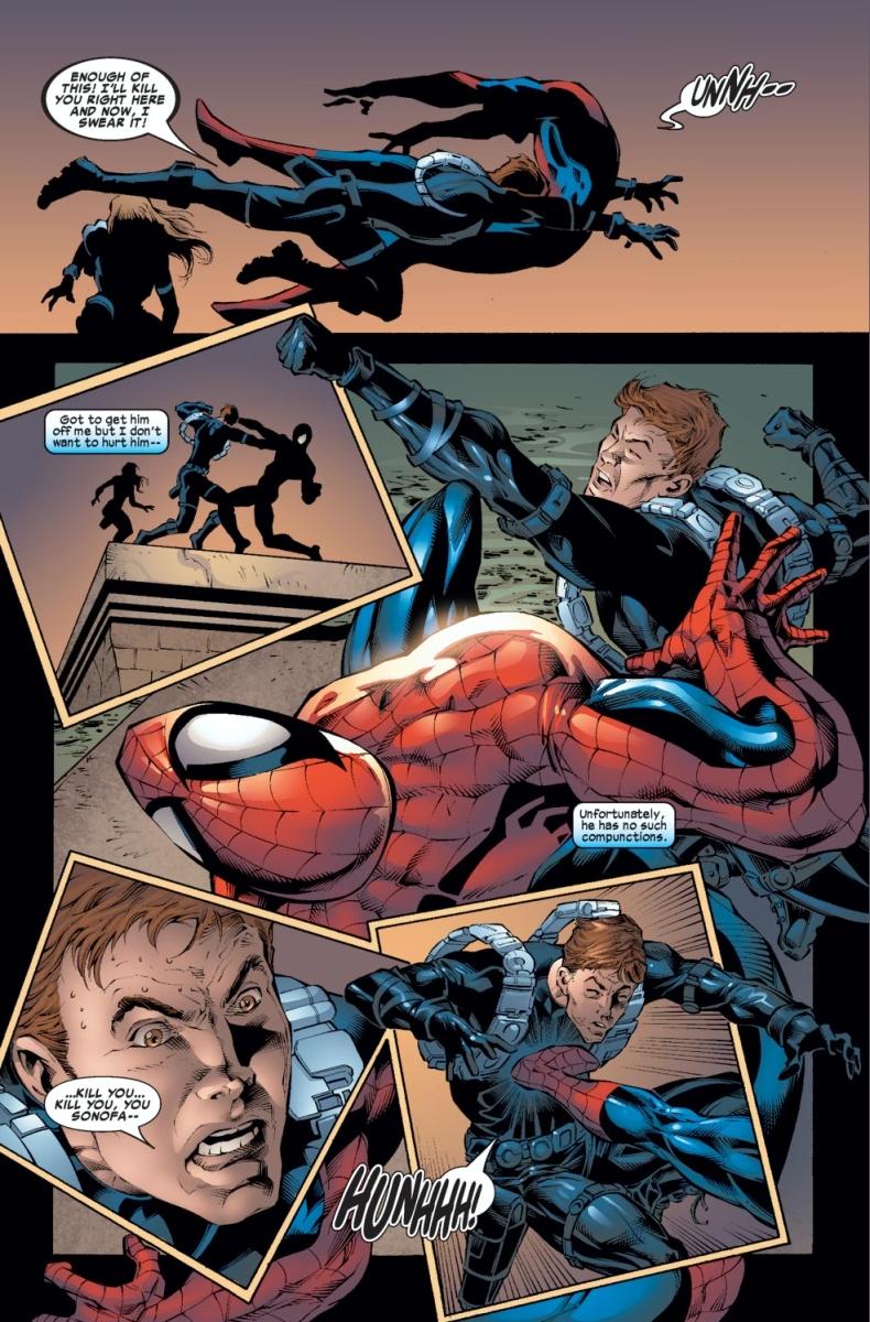 Black Spiderman Comic Spider-Man VS Gabriel ...