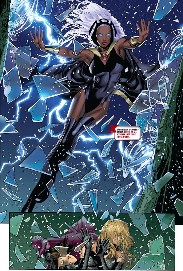 X men comics storm