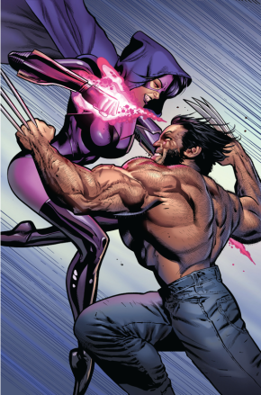 Wolverine VS Lady Deathstrike And Psylocke