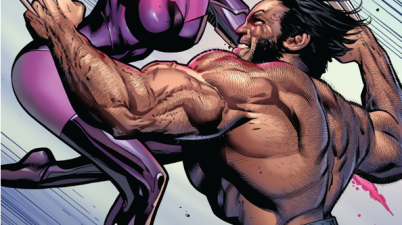 Wolverine VS Lady Deathstrike And Psylocke