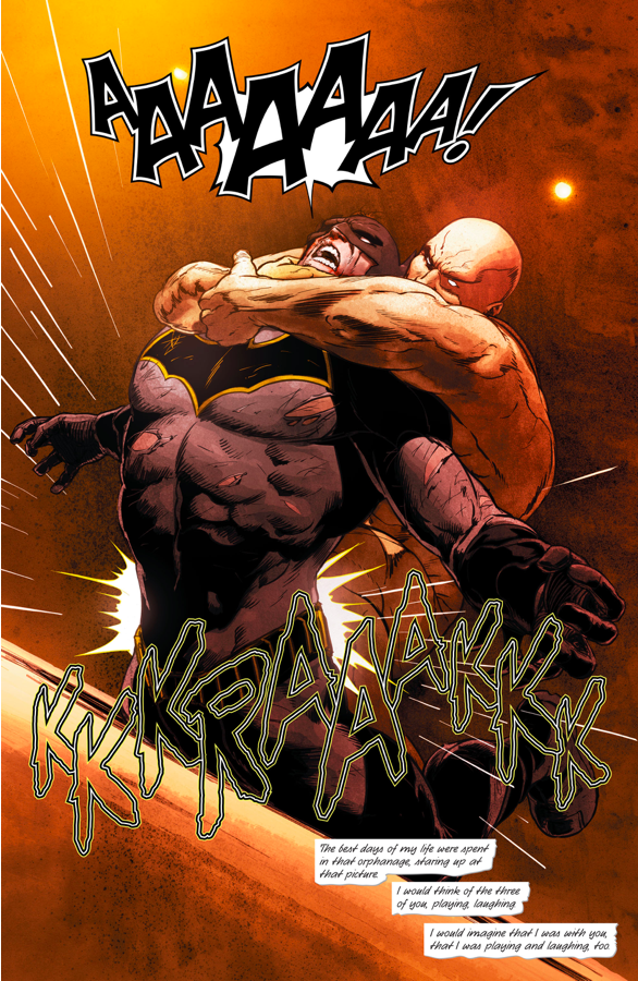 Bane Breaks Batmans Back (Rebirth)