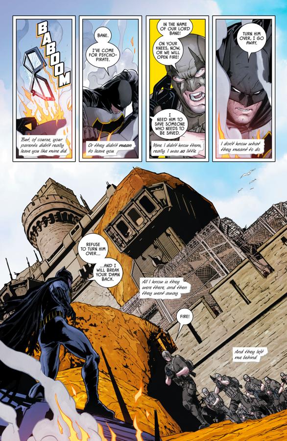 Batman Invades Santa Prisca