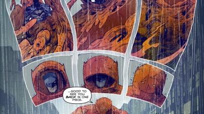 Batman's Clayface Armor