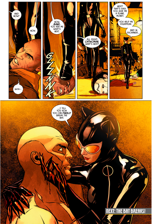 Catwoman Betrays Batman To Bane
