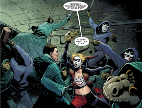 Harley Quinn And Her Army VS Killer Croc's Gang