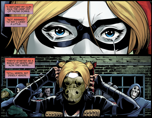 Harley Quinn And Her Army VS Killer Croc's Gang | Comicnewbies Nightwing Injustice Comic