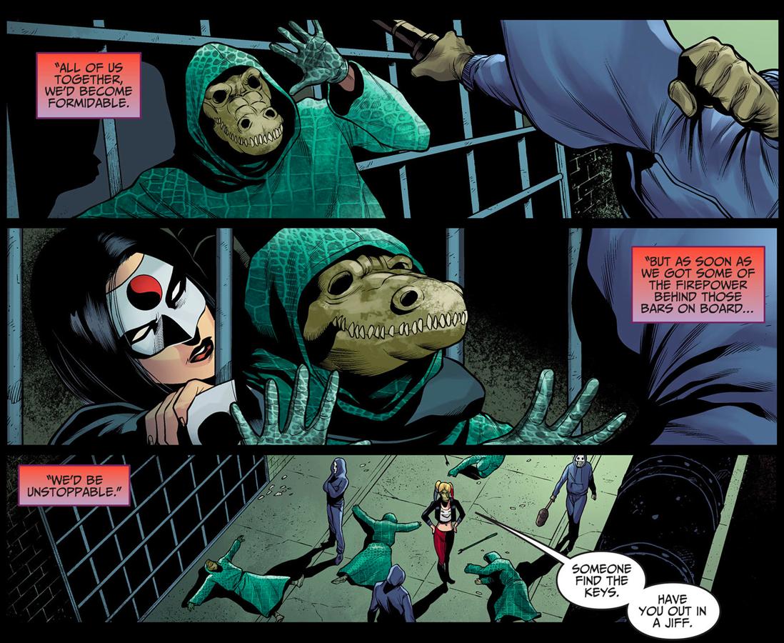 Harley Injustice Killer Croc Orca Kiss Www Picsbud Com