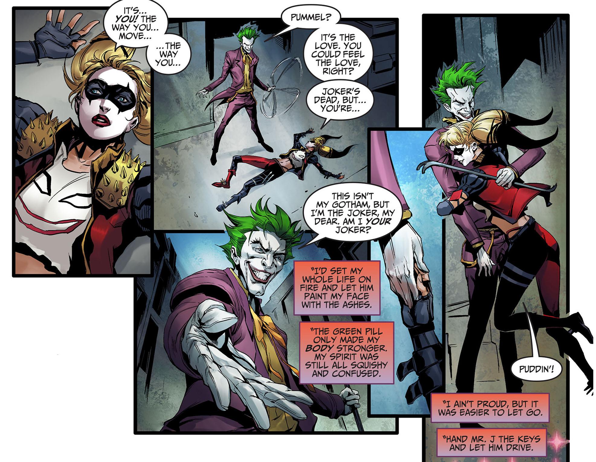 Harley Quinn Vs The Joker Injustice Gods Among