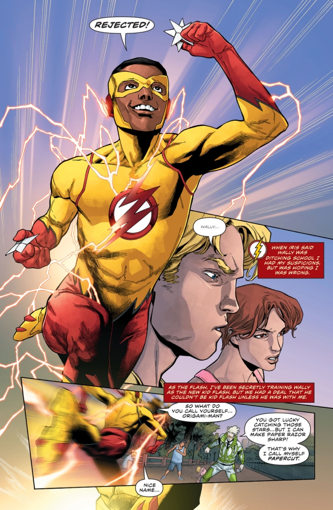 the flash comicnewbies