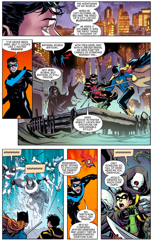 Nightwing And Superman VS Doctor Destiny (Rebirth)