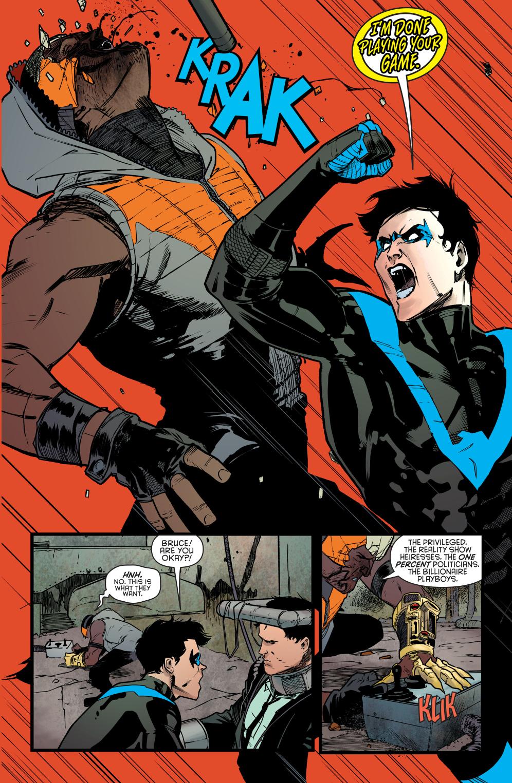 Nightwing VS Raptor | Comicnewbies