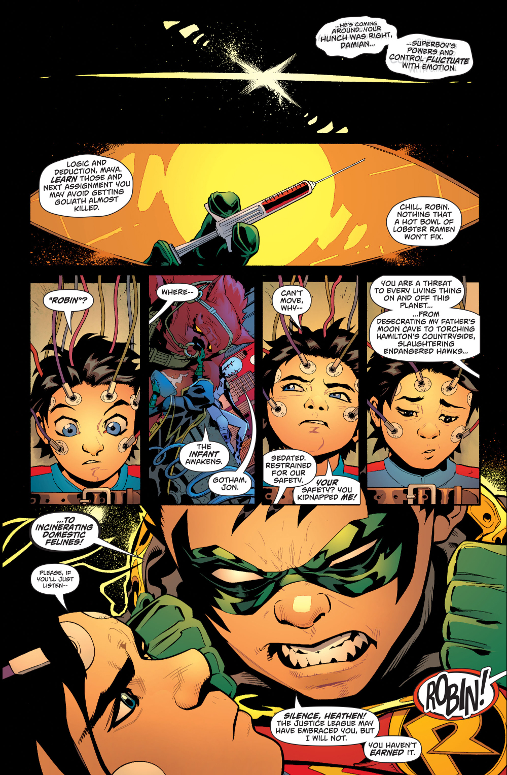superboy meets robin rebirth comicnewbies