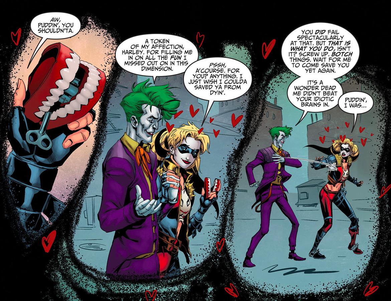 The Joker Seduces Harley Quinn Injustice Gods Among