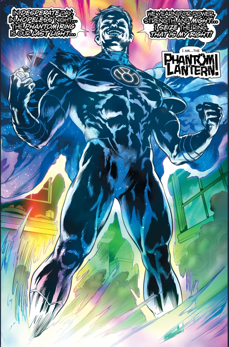 The Phantom Lantern Oath Comicnewbies