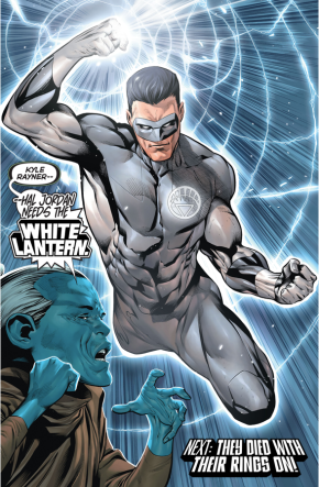 The White Lantern Kyle Rayner (Rebirth)