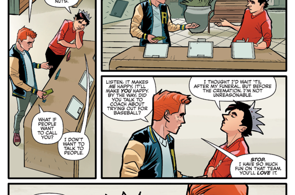 Why Jughead Doesn't Want A Smart Phone