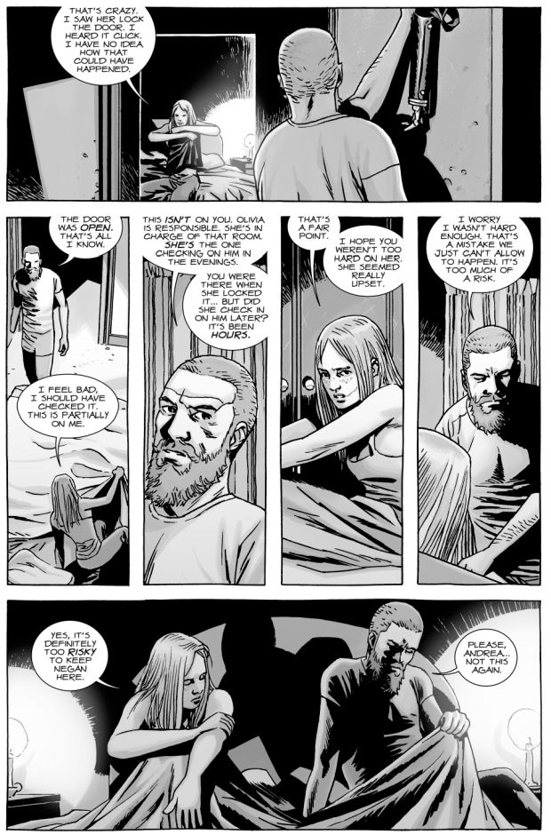 The Walking Dead Comic Andrea And Rick