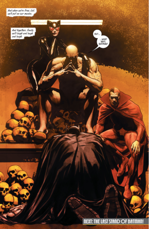 Batman Kneels To Bane