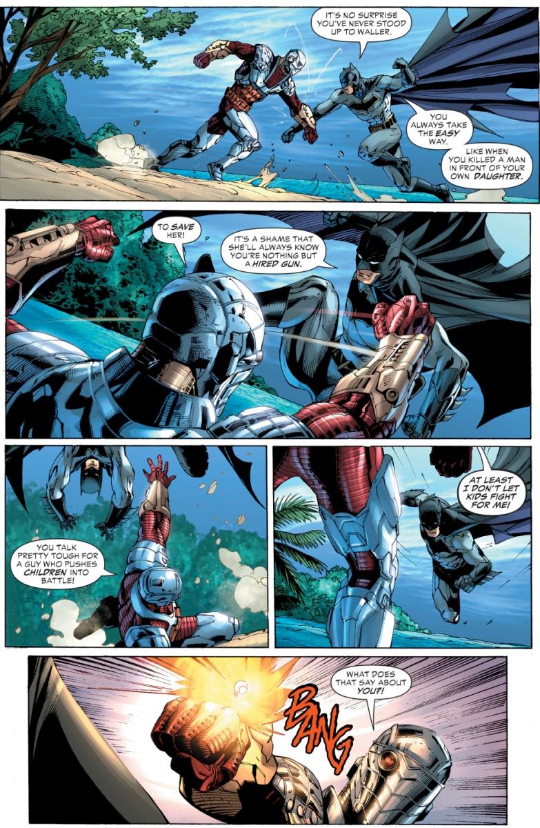 batman vs deadshot justice league vs suicide squad comicnewbies. Black Bedroom Furniture Sets. Home Design Ideas
