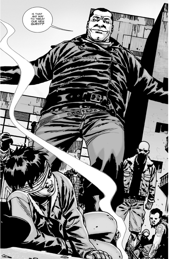 Carl Grimes Kills Several Saviours