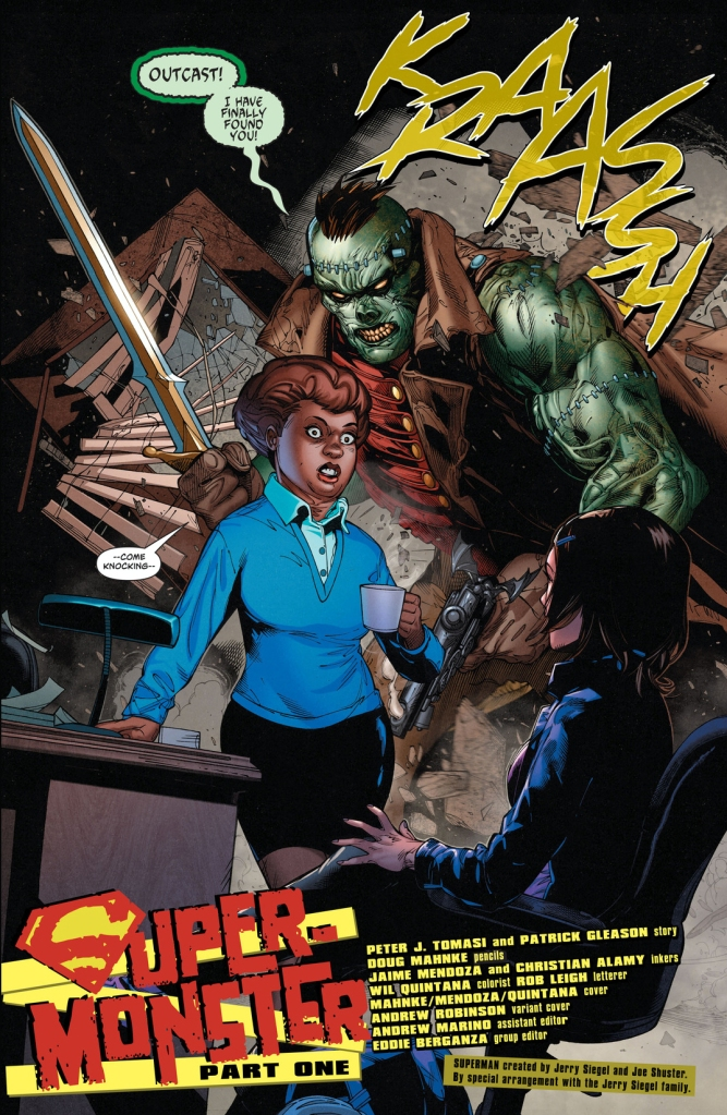 Frankenstein (Superman Vol. 4 #12)