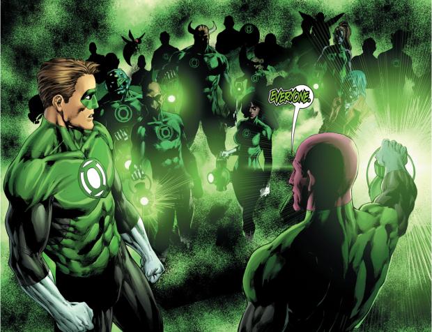 Hal Jordan Reunited With Dead Green Lanterns