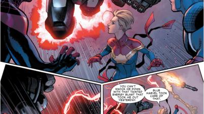 Iron Man VS Captain Marvel (Civil War II)