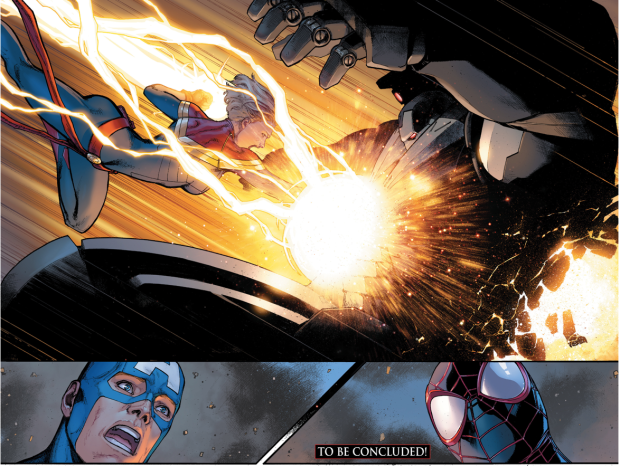 Iron Man VS Captain Marvel (Civil War II)