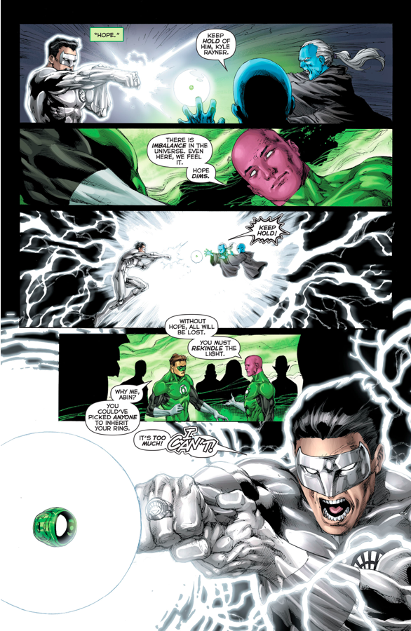 Kyle Rayner Brings Hal Jordan Back To Life