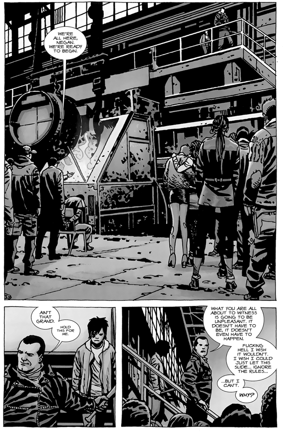 Negan's Punishment For Sleeping With His Wives (The Walking Dead)