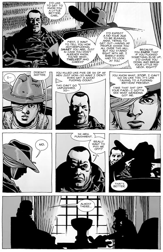 The Walking Dead Fanfiction Negan Kills Carl