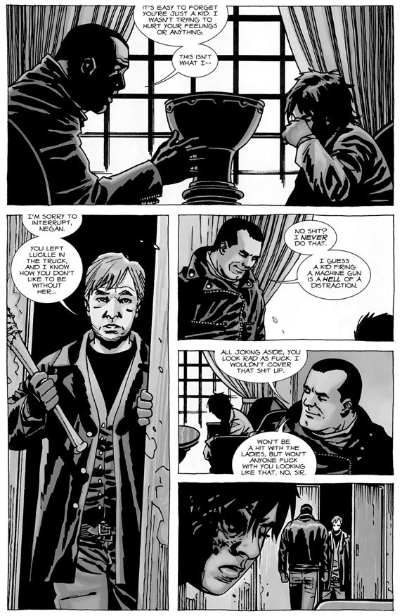 Negan's Punishment To Carl Grimes (The Walking Dead) | Comicnewbies