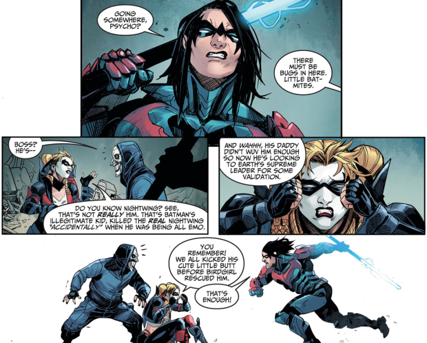 Nightwing (Damian Wayne) Vs Harley Quinn (Injustice Gods Among Us)