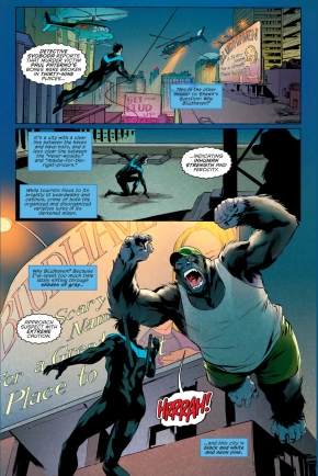 Nightwing VS Gorilla Grimm