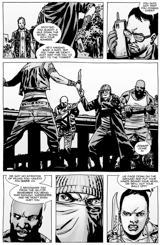 "Paul ""Jesus"" Monroe VS 3 Saviors (The Walking Dead)"