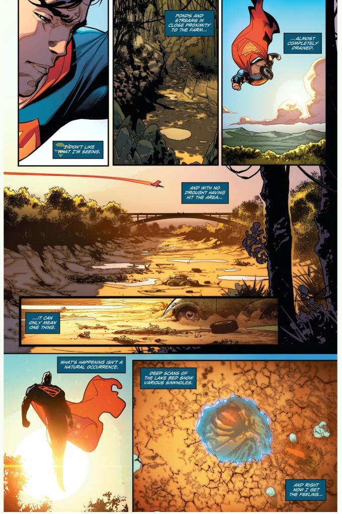 Superman Meets Swamp Thing (Rebirth)