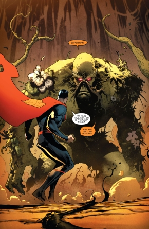 Superman Meets Swamp Thing (Rebirth)