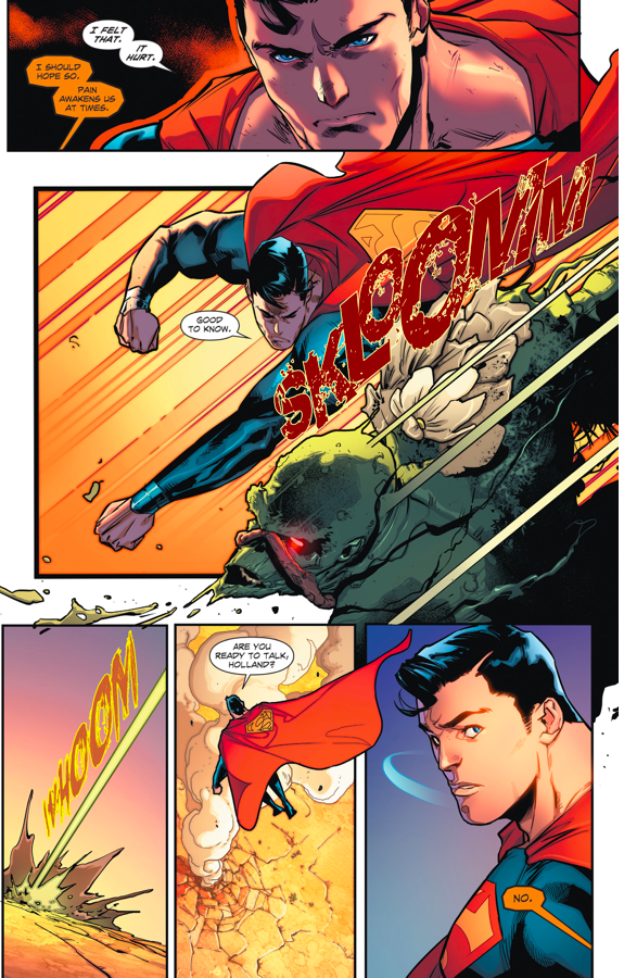 Superman VS Swamp Thing (Rebirth)
