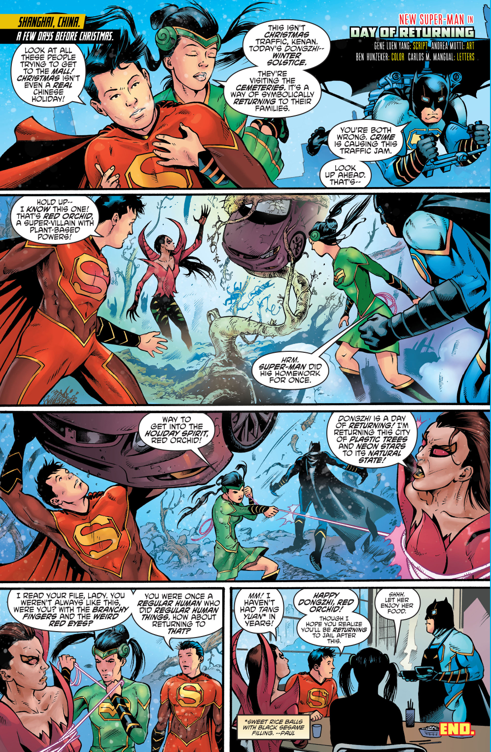 The Chinese Justice League Celebrates The Dongzhi Festival ...