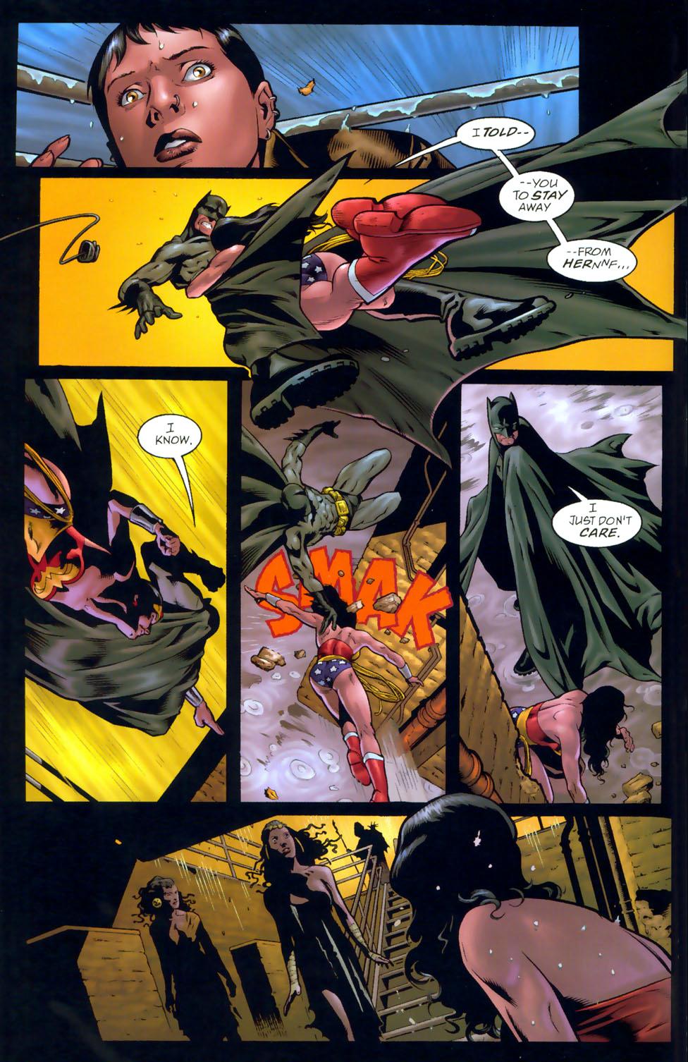 Do batman and wonder woman ever hook up