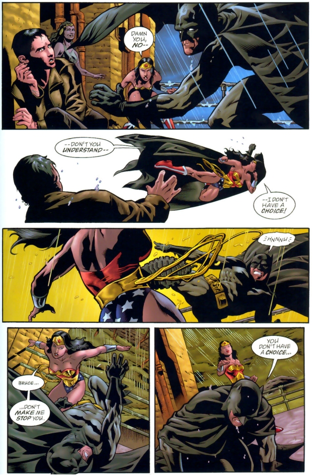 from Trace will batman and wonder woman hook up