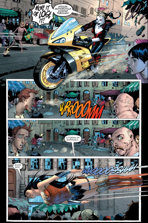 Wonder Woman Vs Harley Quinn Justice League Vs Suicide