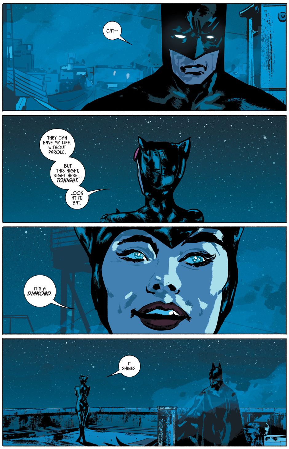 catwoman seduces batman rebirth comicnewbies