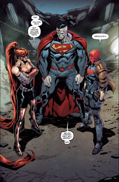 Image result for red hood and the outlaws 2017