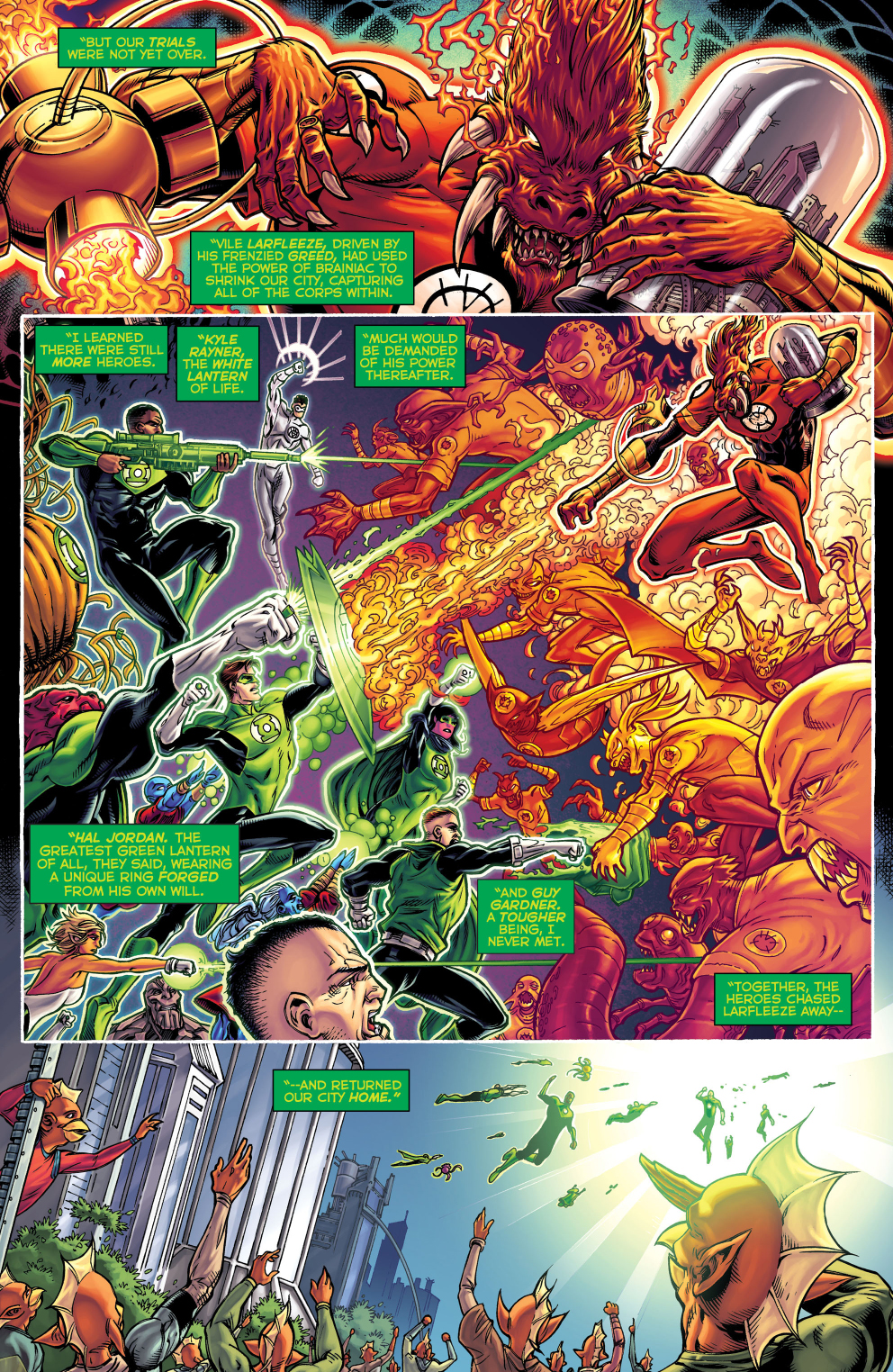 The Green Woman The Empress From The Wildwood Tarot: The Green Lantern Corps Save Xudar
