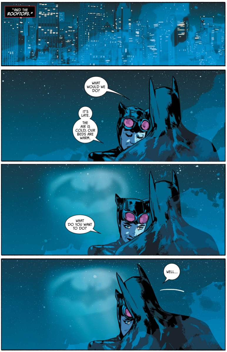 dating catwoman