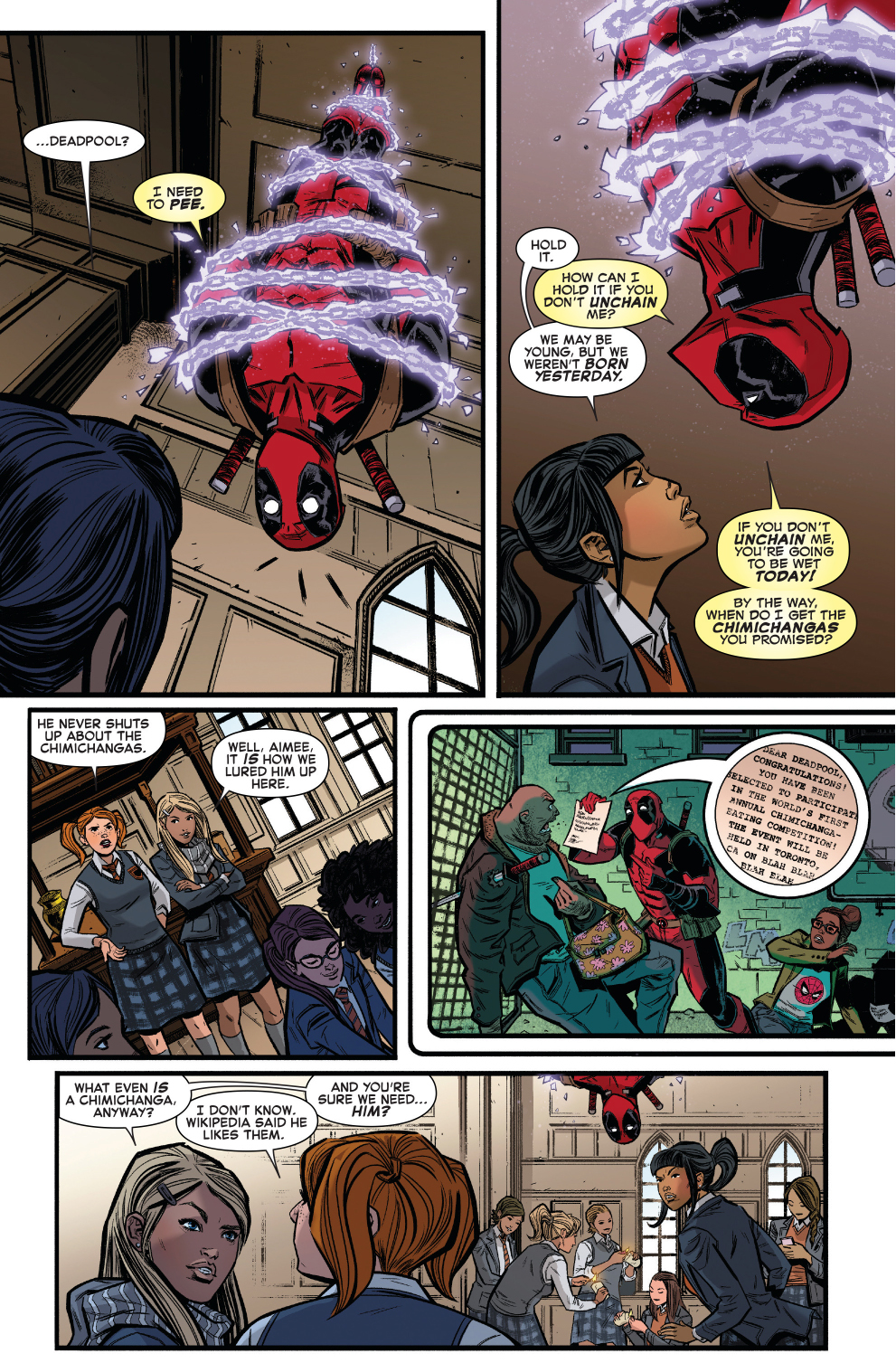 Spider Man Is Deadpools Heartmate ...