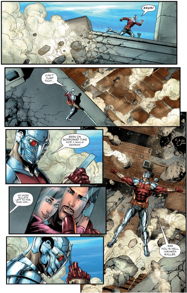 Superman Saves Deadshot (Rebirth)