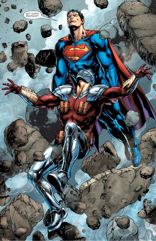 Superman Saves Deadshot (Rebirth)